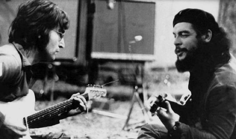 Джон Леннон и Эрнесто Че Гевара, 1966 год