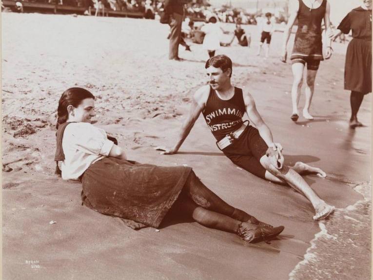 Никола Тесла - инструктор по плаванию, Стейтен-Айленд, 1898 год