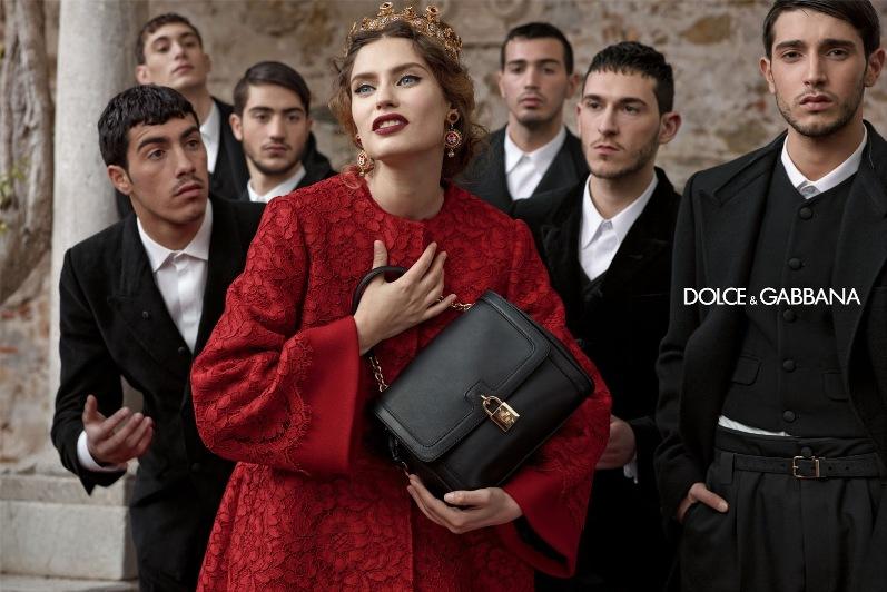 Андрэа Диакону, Бьянка Балти, Моника Беллуччи и Кейт Кинг в рекламной кампании DOLCE & GABBANA F\W 13.14