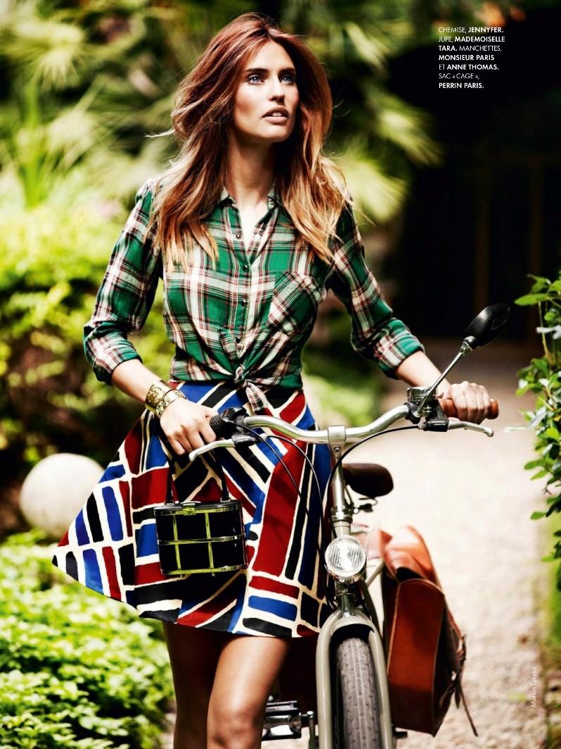 Бьянка Балти в фотосессии для журнала Elle France
