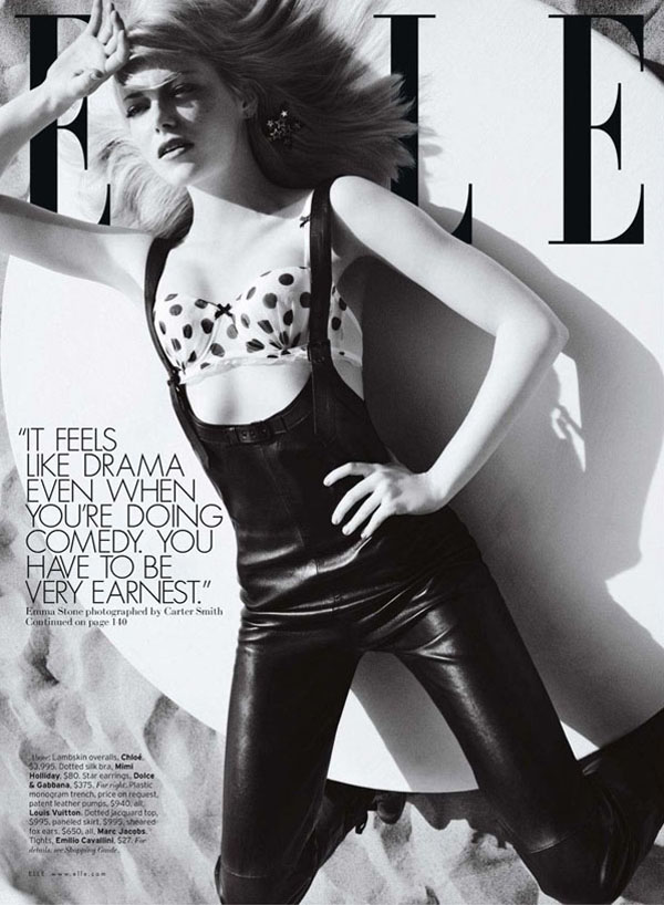 Эмма Стоун в Elle US