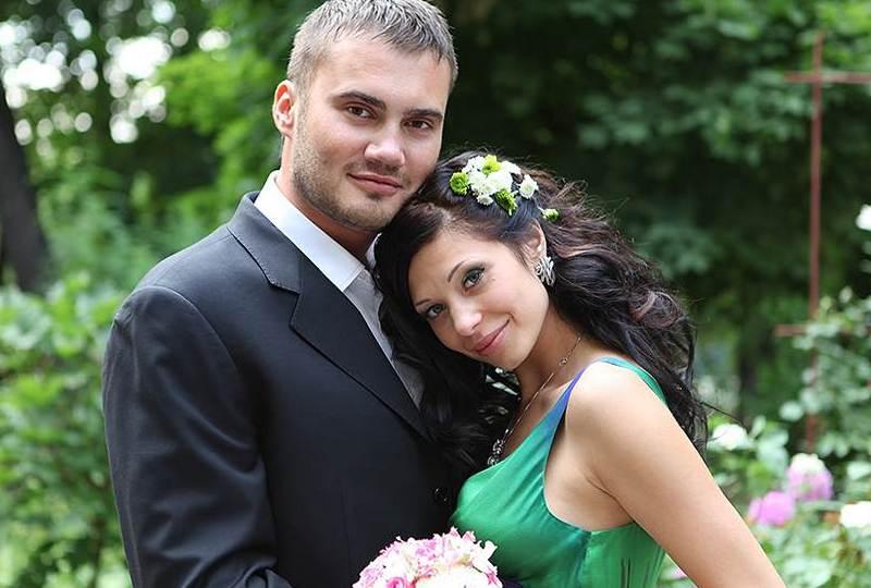 Виктор Янукович-младший и его жена