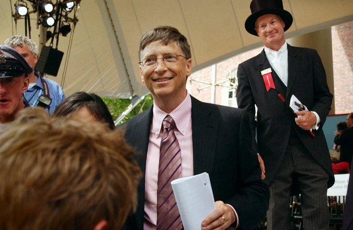 Билл Гейтс в молодости