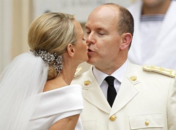 Венчание Альберта II и Шарлин Уиттсток