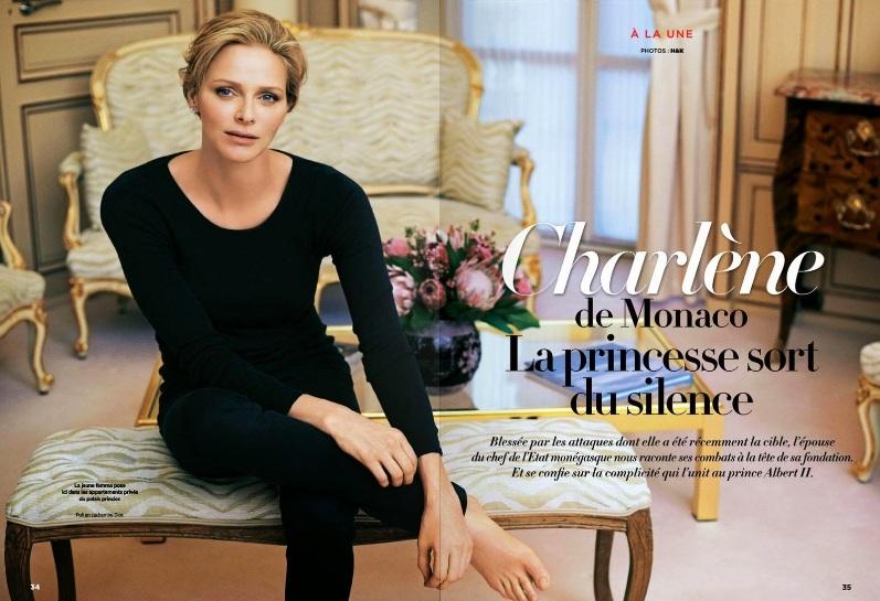 Шарлин Уиттсток для Gala Magazine France, март 2014