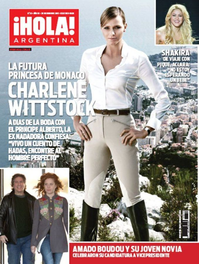 Шарлин Уиттсток на обложках журналов