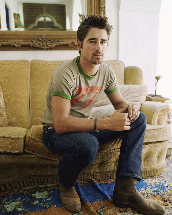Колин Фаррелл: фотосессия для журнала Entertainment Weekly