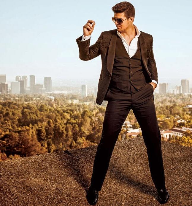 Робин Тик для L.A. Confidential, январь 2014