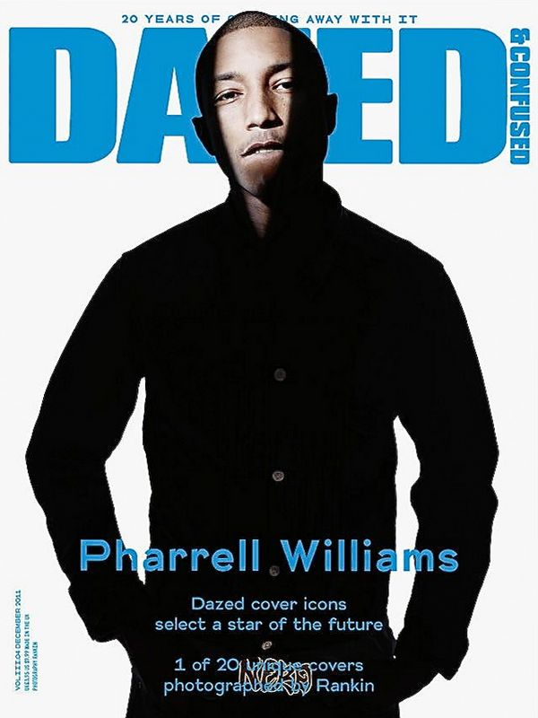 Фаррелл Уильямс на обложках журналов