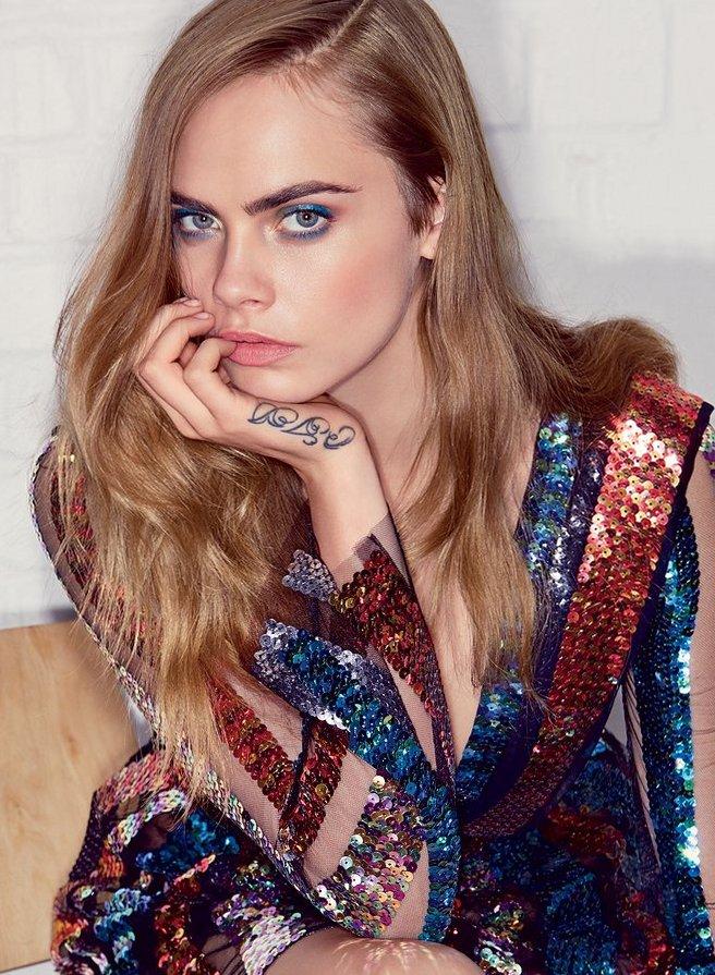 Кара Делевинь для Vogue, июль 2015