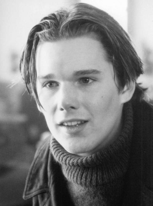 Этан Хоук в молодости