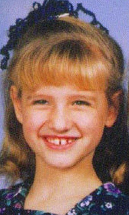 Эшли Симпсон в детстве