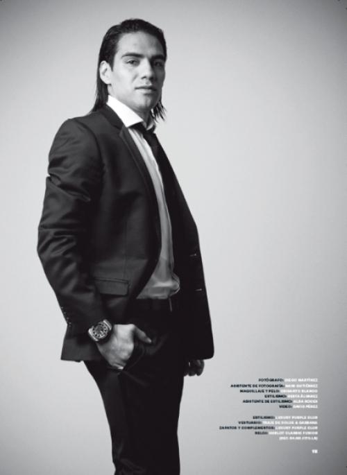 Радамель Фалькао для Esquire