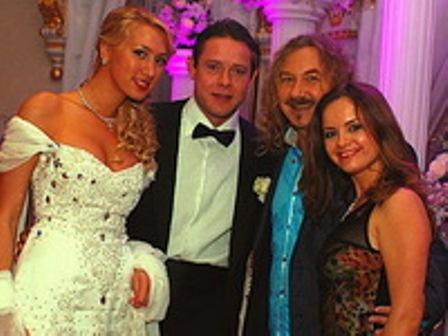 Свадьба Павла Буре и Алины Хасановой