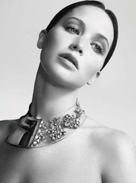 Дженнифер Лоуренс в рекламе Christian Dior Miss Dior