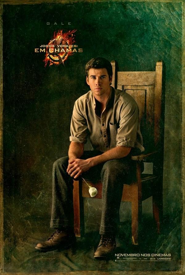 Характер-постеры фильма «Голодные игры: И вспыхнет пламя»