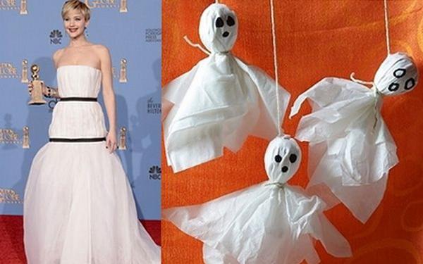 Пародии на платье Дженнифер Лоуренс