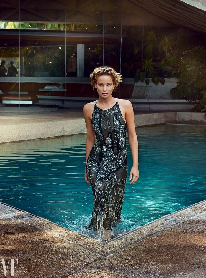 Дженнифер Лоуренс для Vanity Fair, март 2015