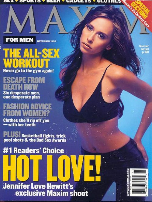 Дженнифер Лав Хьюитт на обложках журналов