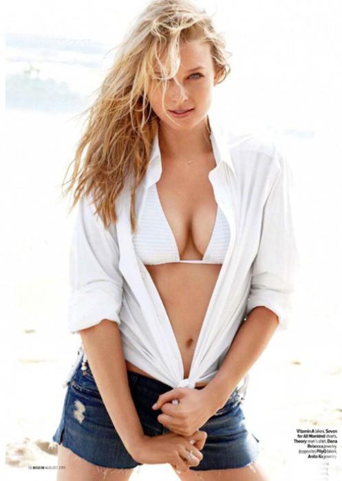 Рэйчел Николс в журнале Maxim