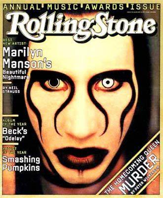 Мэрилин Мэнсон на обложках журналов