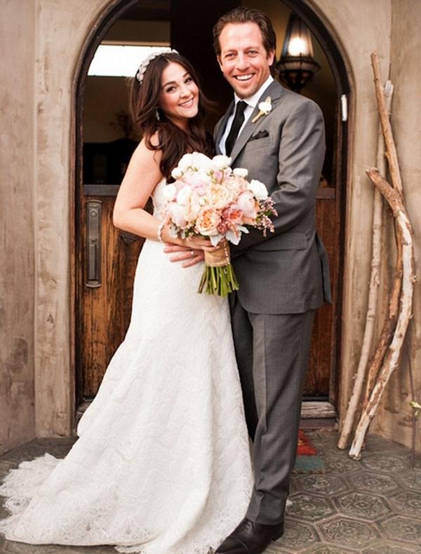 Alisan porter wedding