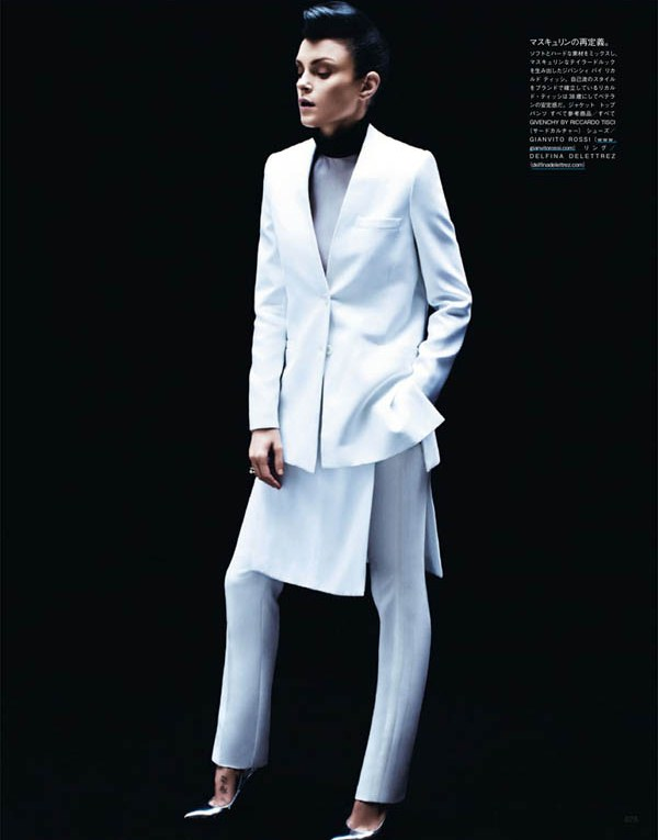 Джессика Стэм для Vogue Japan