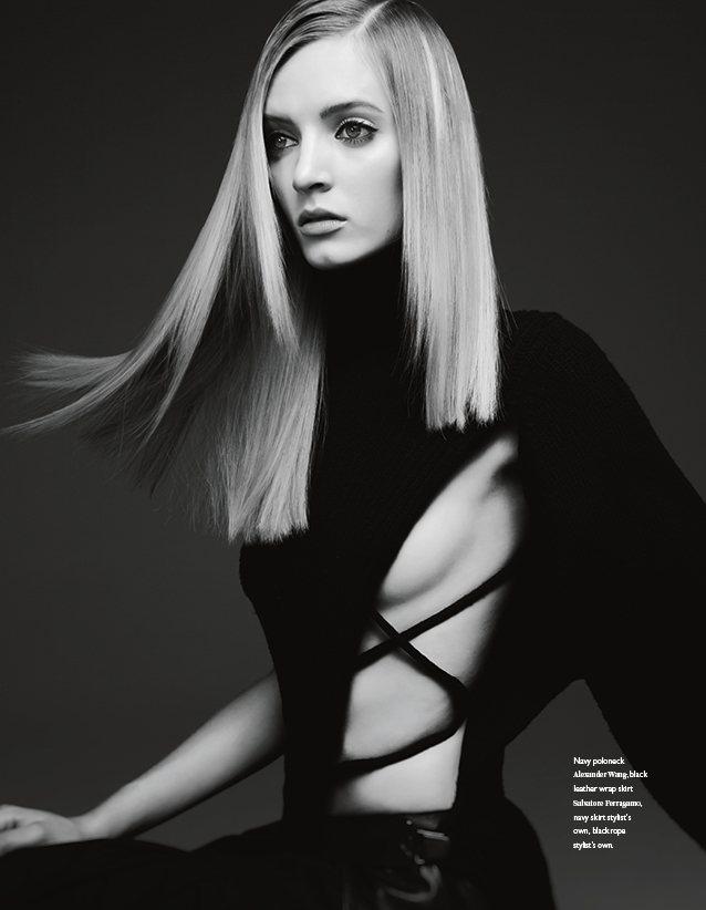 Дарья Строкоус для журнала Bon