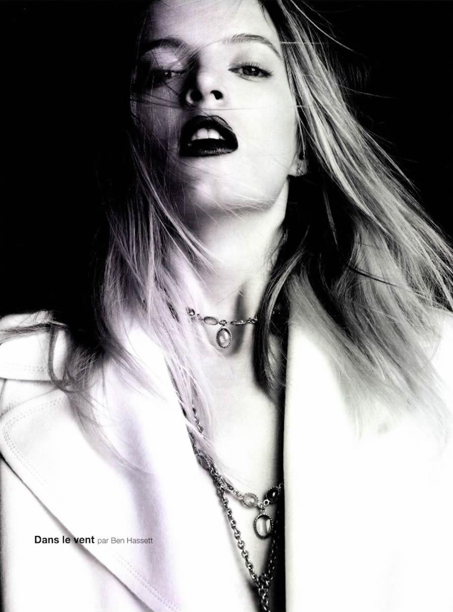 Дарья Строкоус в журнале Numero