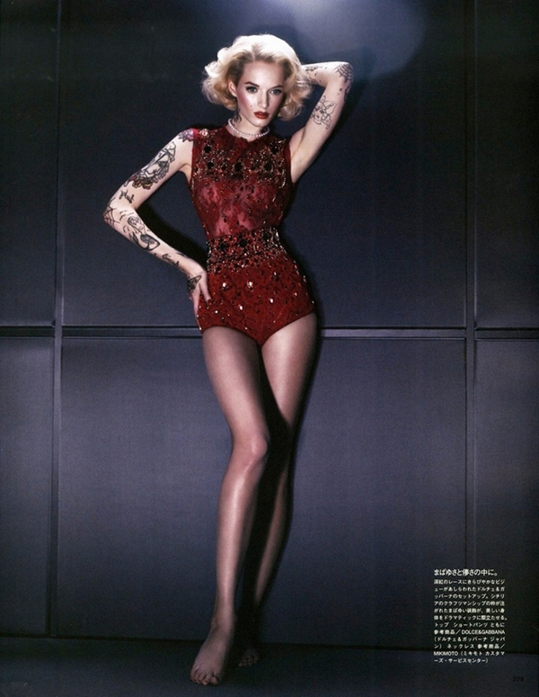 Дарья Строкоус для Vogue Japan, сентябрь 2013