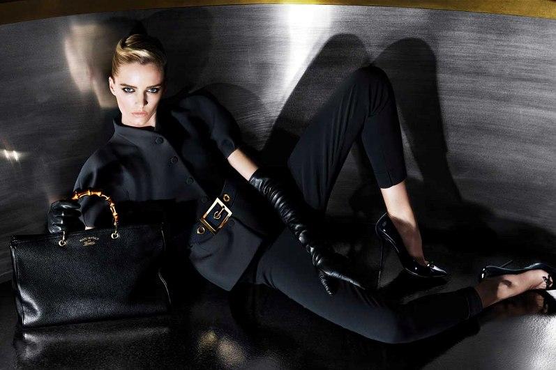 Дарья Строкоус для рекламной кампании GUCCI PRE-FALL 2013