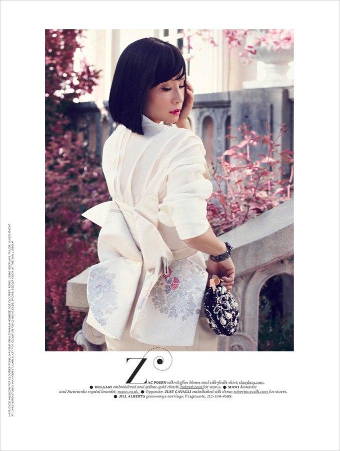 Люси Лью в More Magazine