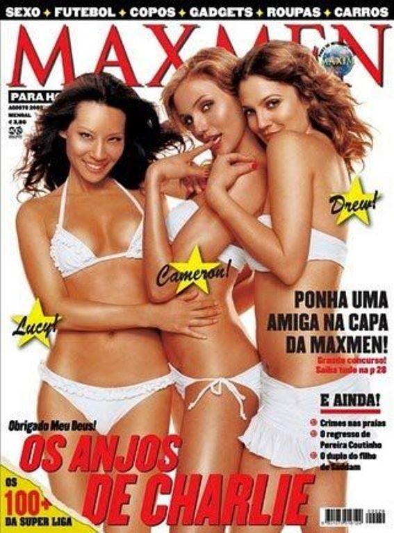 Люси Лью на обложках журналов