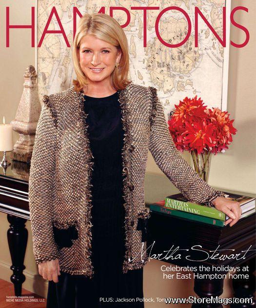Марта Стюарт на обложках журналов