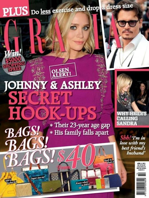 Эшли Олсен на обложках журналов