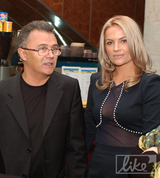 Юрий Фалеса и Маша Гойя