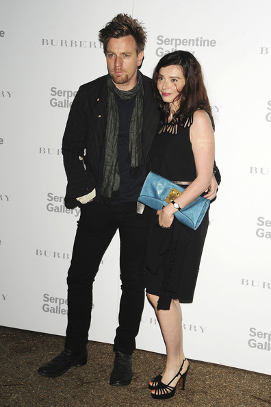 Эван МакГрегор с женой