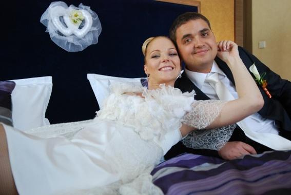 Свадьба Дарьи Трегубовой