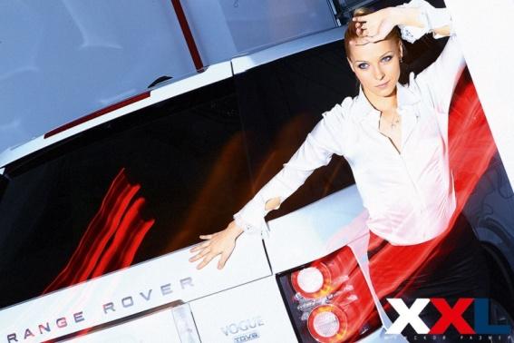 Дарья Трегубова в фотосессии для журнала XXL