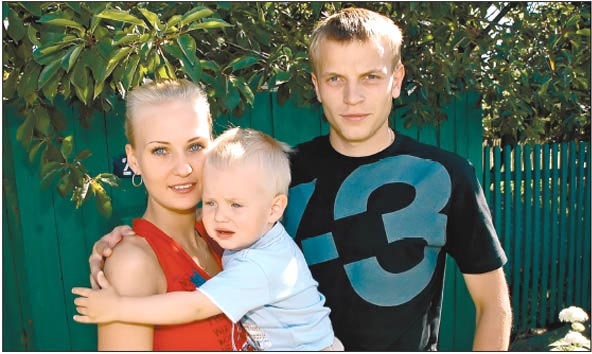 Семья Олега Гусева