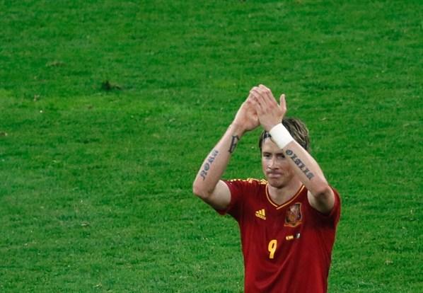 Самые яркие татуировки футболистов на Евро-2012