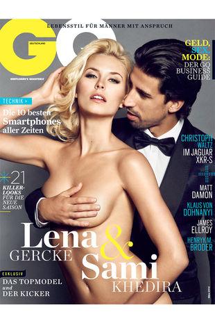 Сами Хедира и Лена Герке в откровенной фотосессии для GQ