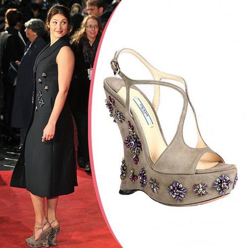 Звездная обувь Джеммы Артертон