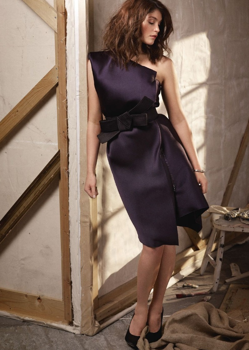 Джемма Артертон для июньского выпуска Marie Claire UK