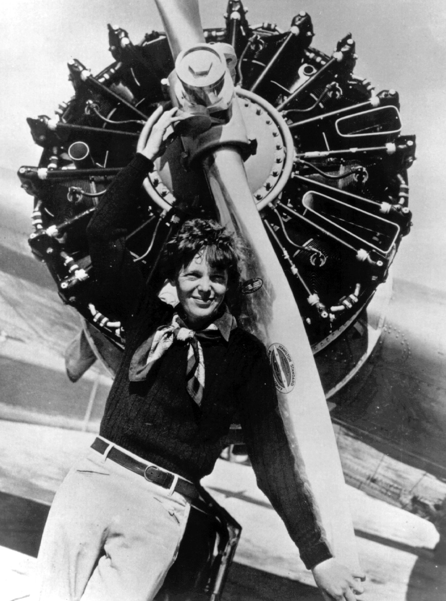 amelia earhart a woman with a Amelia earhart, a kansas girl, discovers the thrill of aviation at age 23, and within 12 years has progressed to winning the distinguished flying cross for being the first woman to pilot a plane solo across the atlantic ocean.