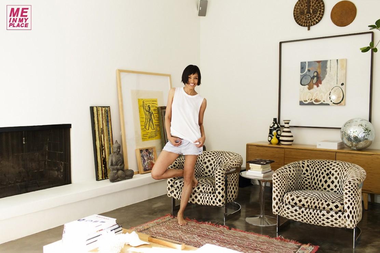Тамара Тэйлор в домашней обстановке
