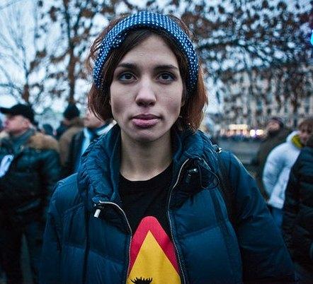 Надежда Толоконникова разделась догола. Смотри подборку эротических фотографий с Надежда Толоконникова