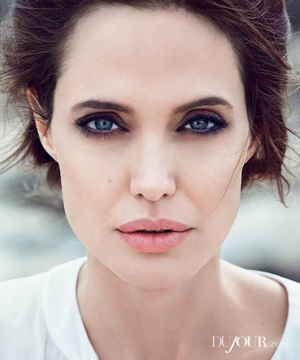 Анджелина Джоли и Джек О'Коннелл для DuJour, зима 2014-2015