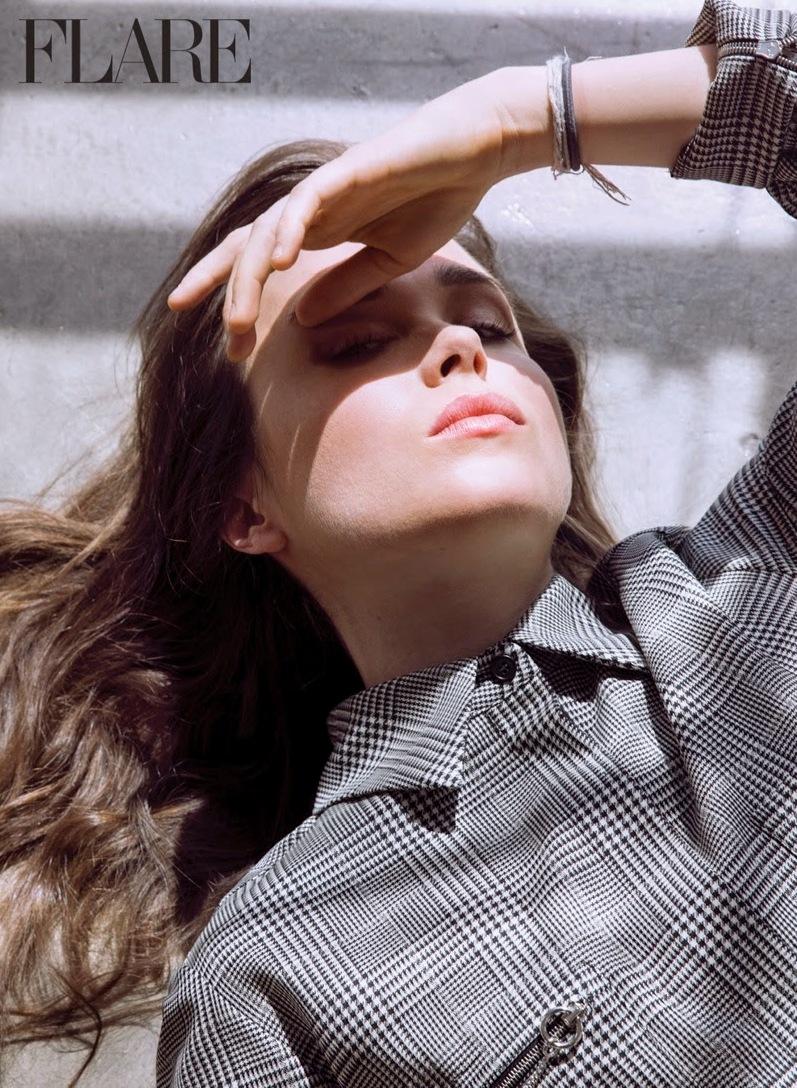 Эллен Пейдж в фотосессии Нино Муньоса для Flare Magazine, май 2014