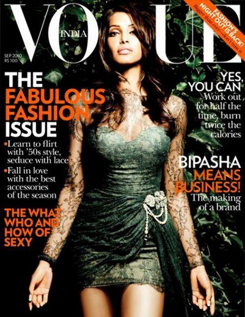 Бипаша Басу на обложках журналов